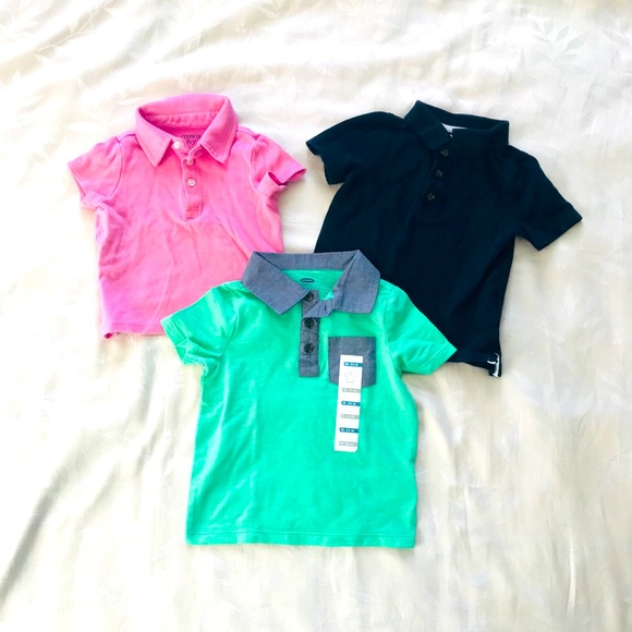 Old Navy Polo Shirts (Bundle of 3)